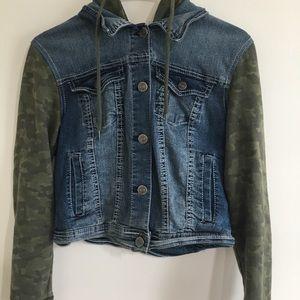 Wallflower Authentic Denim Hooded Jacket